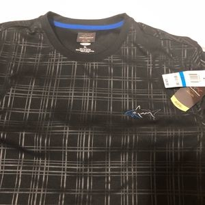 Greg Norman NWT black short sleeve shirt